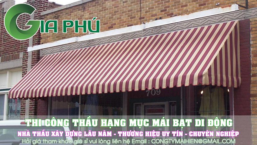 Làm bạt che nắng quận Tân Phú nhiều người tin dùng