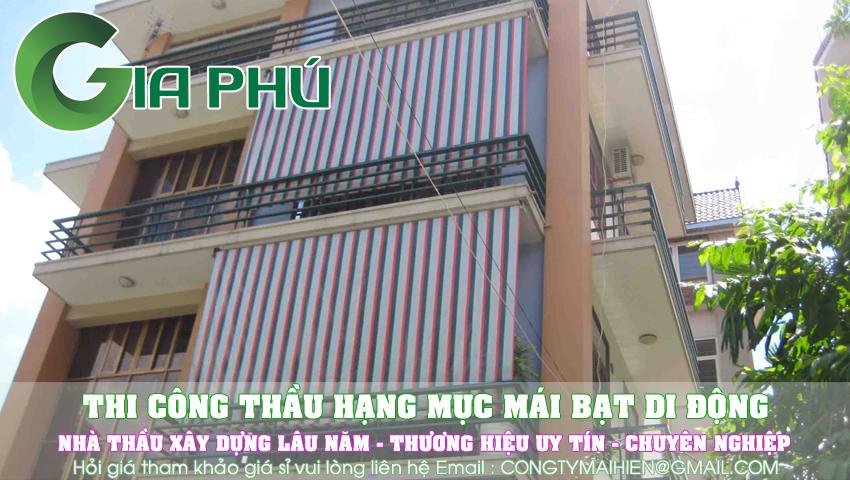 Làm bạt che nắng quận Phú Nhuận